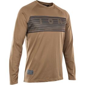 ION Scrub 2.0 Langarm Shirt mud brown